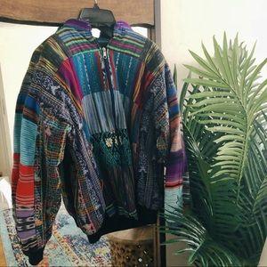 Vintage Guatemalan Patchwork Jacket